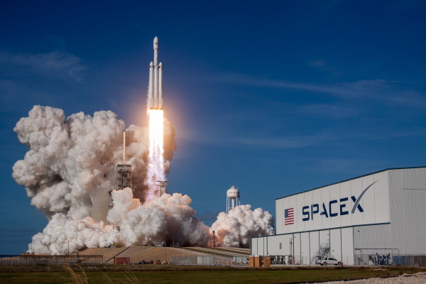 SpaceX on Unsplash
